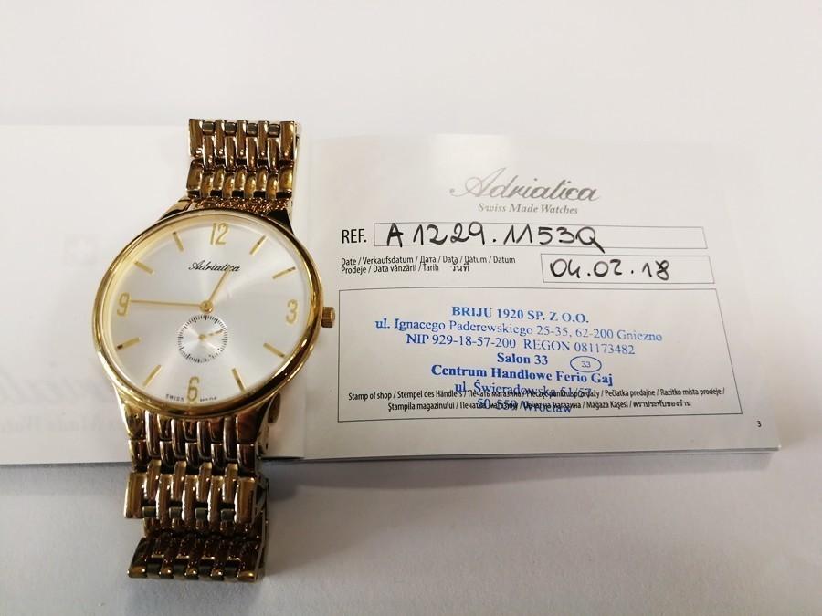 adriatica zegarek damski 3423.763.7